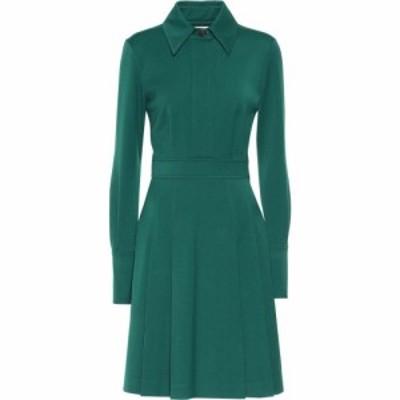 ヴィクトリア ベッカム Victoria Victoria Beckham レディース ワンピース ミドル丈 ワンピース・ドレス Pleated Midi Dress Ivy Green