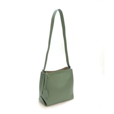 BASE / 本革 3層 シンプルデザイン レディース ショルダーバッグ WOMEN バッグ > ショルダーバッグ