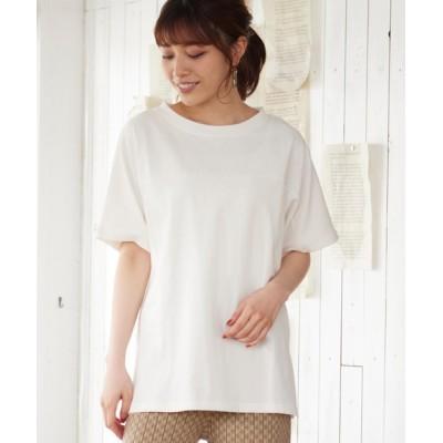 tシャツ Tシャツ バック開きオーバーサイズTシャツ
