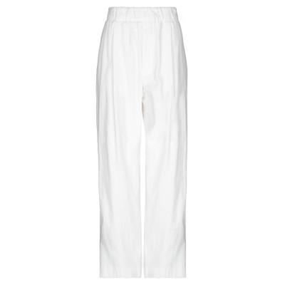 JEJIA パンツ ホワイト 42 コットン 100% パンツ