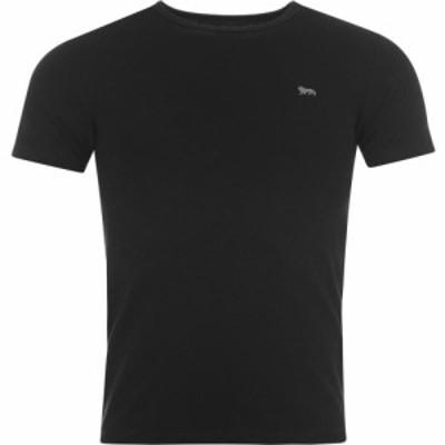 ロンズデール Lonsdale メンズ Tシャツ トップス Single T Shirt Black