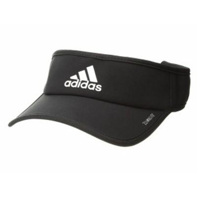 アディダス メンズ 帽子 アクセサリー Superlite Visor Cap Black/White