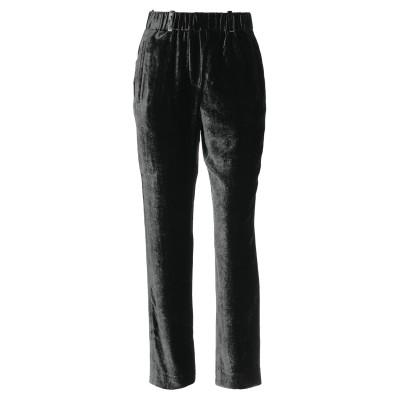 インコテックス INCOTEX パンツ 鉛色 38 レーヨン 82% / シルク 18% パンツ
