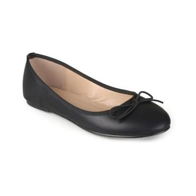 ジャーニーコレクション サンダル シューズ レディース Women's Vika Flats Black