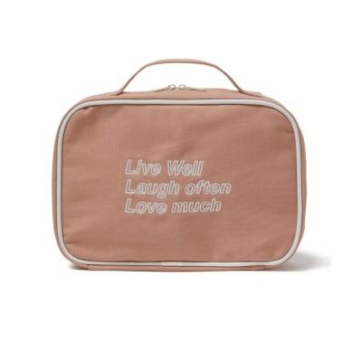 COEL / 刺繍メイクポーチ WOMEN 財布/小物 > ポーチ