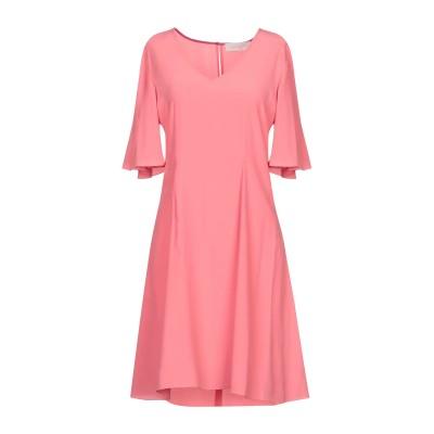 ロートレ ショーズ L' AUTRE CHOSE ミニワンピース&ドレス ピンク 46 100% ポリエステル ミニワンピース&ドレス