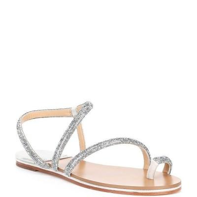 アントニオメラニー レディース サンダル シューズ Paulinie Embellished Flat Sandals Chalk