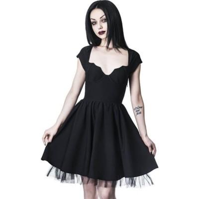 キルスター Killstar レディース パーティードレス ワンピース・ドレス - Good Ghoul Party Black - Dress black