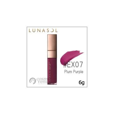 LUNASOL ルナソル クリーミィ マット リクイド リップス #EX07 Plum Purple 6g /ゆうパケット