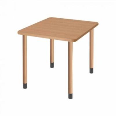 オフィス・施設向け家具 スタンダードテーブル 4本固定脚 ナチュラル UFT-4K9090-NA-L1【メーカー直送】代引き・銀行振込前払い・同