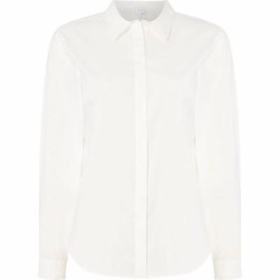 リネアペレ Linea レディース ブラウス・シャツ トップス Plain Shirt Ivory