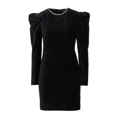 イザベル マラン ISABEL MARANT ミニワンピース&ドレス ブラック 36 コットン 97% / ポリウレタン 3% / 真鍮/ブラス /