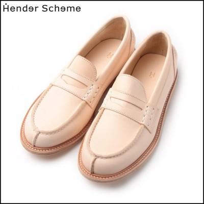 ポイント10% エンダースキーマ  革靴 ローファー Hender Scheme slouchy Natural MF-S-SLO-NA