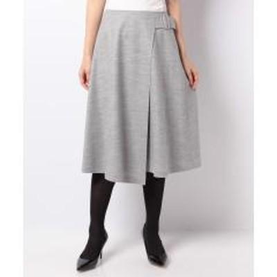 Leilian(レリアン)ラップベルトスカート