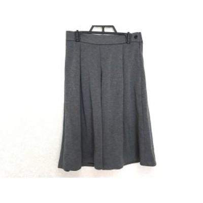 プラステ PLS+T(PLST) スカート サイズS レディース ダークグレー【還元祭対象】【中古】