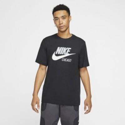ナイキ メンズ Tシャツ Nike NSW City T-Shirt 半袖 Black/White | Chicago