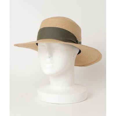 VARIOUS SHOP / リボン付きペーパーハット WOMEN 帽子 > ハット