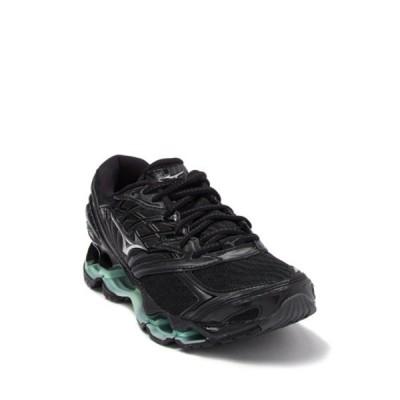 ミズノ レディース スニーカー シューズ Wave Prophecy 8 Running Sneaker BK SIL