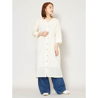 欧州航路 公式 《ジェーンレースシャツワンピース》 ヨーロッパ 雑貨 ファッション  ファッション ワンピース/カーデ LCA-0202