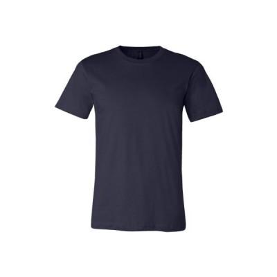 Bella + Canvas Unisex Jersey Short-Sleeve T-Shirt 4XL NAVY【並行輸入品】
