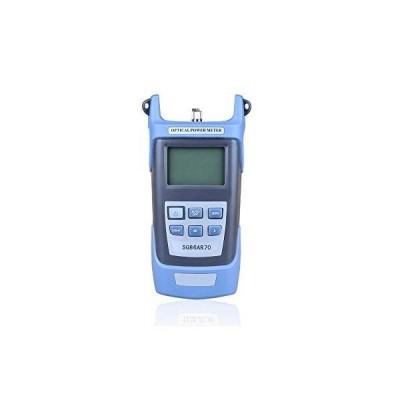 光パワーメーター光ファイバー 測定器 計測 ケーブルテスター 電気通信業者向け FC/SC/STアダプター付き -70〜+ 3dBm