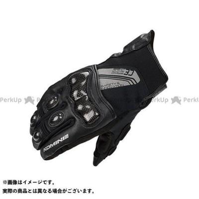 コミネ GK-824 CE カーボンプロテクトショートウインターグローブ(ブラック) カラー:XL KOMINE