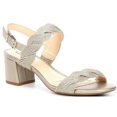 アレックスマリー レディース サンダル シューズ Devah Braided Rope Block Heel Sandals