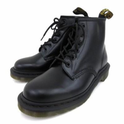 【中古】未使用 ドクターマーチン CORE 101 6ホール ブーツ 6EYE BOOT 10064001 レザー シューズ UK8 27cm 黒 メンズ
