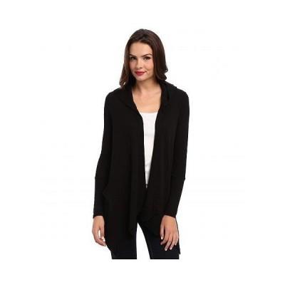 Splendid スプレンデッド レディース 女性用 ファッション セーター Thermal Flight Cardigan Hoodie - Black