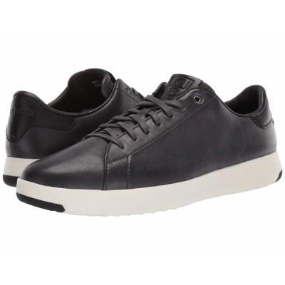 コールハーン スニーカー シューズ メンズ GrandPro Tennis Sneaker Burnished Pavement Leather/Black