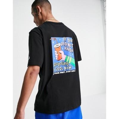 プーマ メンズ シャツ トップス Puma downtown be cool t-shirt in black