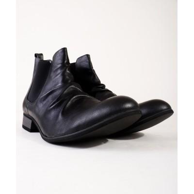 FUNALIVE / 【DEDES】ドレープサイドゴアブーツ MEN シューズ > ブーツ