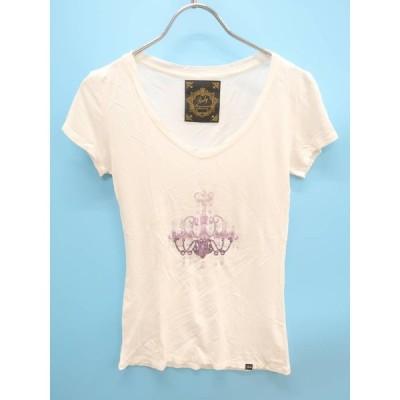 Rady(レディー)シークィーンシャンデリアTシャツ 半袖 白 レディース Aランク F