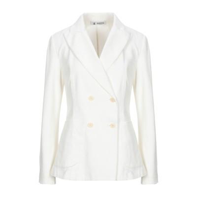 バレナ BARENA テーラードジャケット ホワイト 40 コットン 98% / ポリウレタン 2% テーラードジャケット