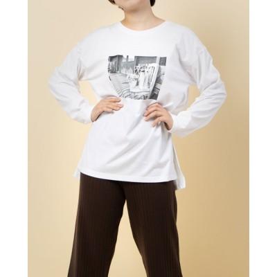 ルゥデ Rewde 【デオドラント】グラフィックTシャツ(0R15-10147) (シロ)