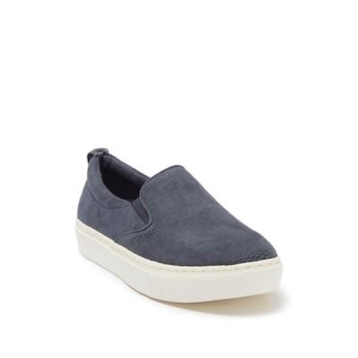 ドクターショール レディース スニーカー シューズ No Bad Days Slip-On Platform Sneaker OXIDE BLUE