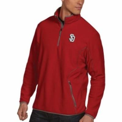 Antigua アンティグア スポーツ用品  Antigua South Dakota Coyotes Red Ice Quarter-Zip Jacket