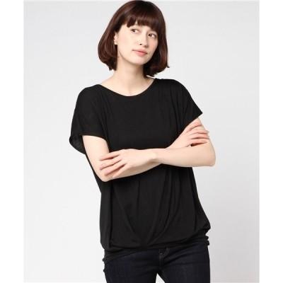tシャツ Tシャツ バックリボンタックチュニック