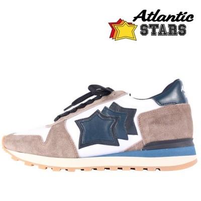 【44】 Atlantic Stars アトランティックスターズ スニーカー ARGO メンズ ホワイト 白 並行輸入品 大きいサイズ