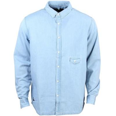 テンディープ 10 Deep メンズ シャツ トップス Red Tail Sweeper Long Sleeve Shirt blue/light indigo