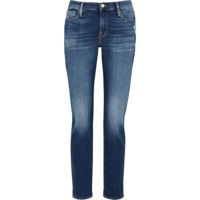 フレーム Frame レディース ジーンズ・デニム ボトムス・パンツ Le Garcon blue slim-leg jeans Blue