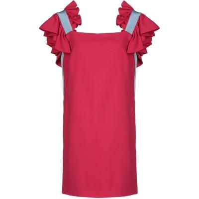 BROGNANO ミニワンピース&ドレス レッド 42 ポリエステル 100% / コットン / レーヨン ミニワンピース&ドレス
