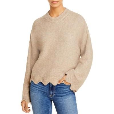 スリーワンフィリップリム レディース ニット・セーター アウター Scalloped Flare Sleeve Sweater