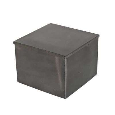METAL SQUARE BOX L ダルトン dulton 小物入れ ふた付き 卓上小物入れ アンティーク 小物収納