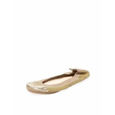 ヨシサムラ レディース フラットシューズ Samantha Cap-Toe Leather Flat