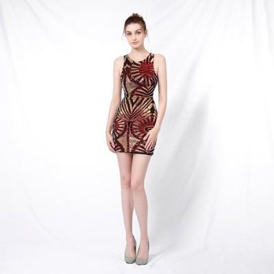 パーティードレスイブニングドレス可愛い安いキャバナイトクラブミニドレス柄上品ドレス
