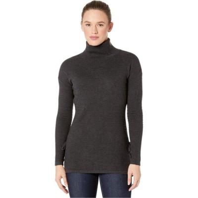 スマートウール Smartwool レディース ニット・セーター トップス Spruce Creek Tunic Sweater Charcoal Heather