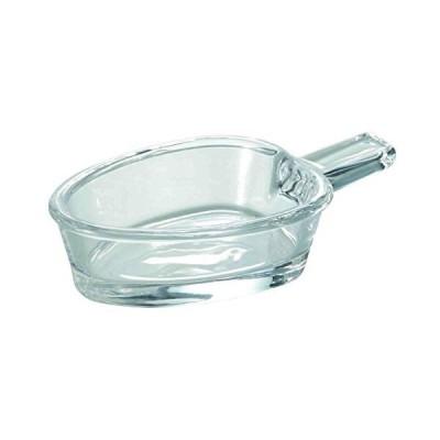 東洋佐々木ガラス 小皿 クリア 10.4×6.0×2.5cm 花かざり アイスバー 丸 6ヶ入 TS44037