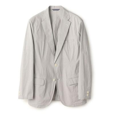 ジャケット テーラードジャケット SC: コットン/リネン コードレーン ストレッチ セットアップ ジャケット