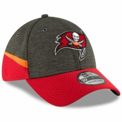 New Era ニュー エラ スポーツ用品  New Era Tampa Bay Buccaneers Pewter/Red 2018 NFL Sideline Home Official 39THIRTY Fl